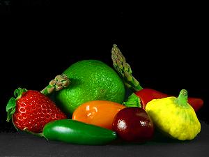 Gesunde Ernährung - Vitamine, Sekundäre Pflanzenfarbstoffe, Eiweiss