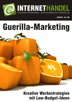 Guerilla-Marketing im Online-Handel