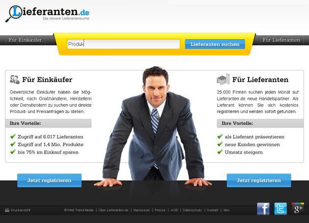 Vom StartUp zur etablierten Marke in nur einem Jahr - Lieferanten.de