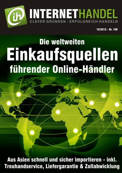 Weltweite Einkaufsquellen führender Online-Händler