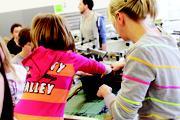 Der Girls'- und Boys'Day an der HdM kommt bei Schülerinnen und Schülern gut an Foto: HdM Stuttgart