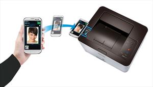 Samsung NFC Bildleiste